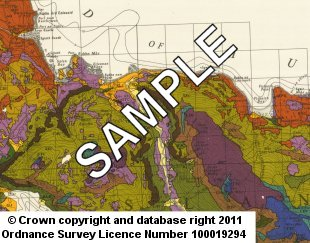 Soil Maps Coloured 1:63 360 sample image