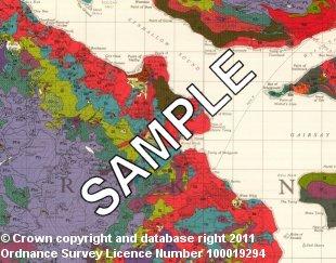 Soil Maps Coloured 1:50 000 sample image